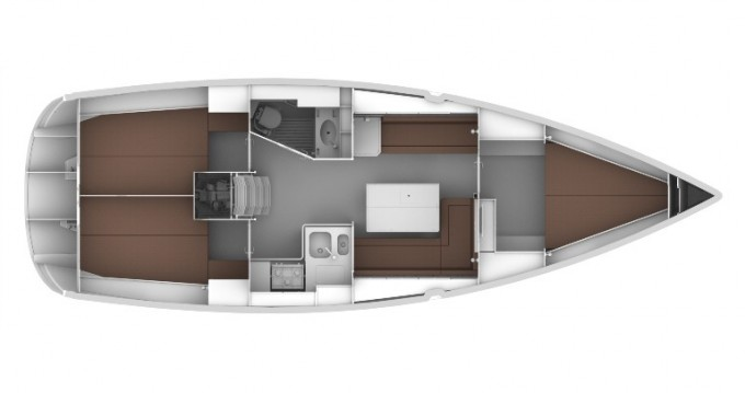 Boat rental Sukošan cheap Cruiser 36
