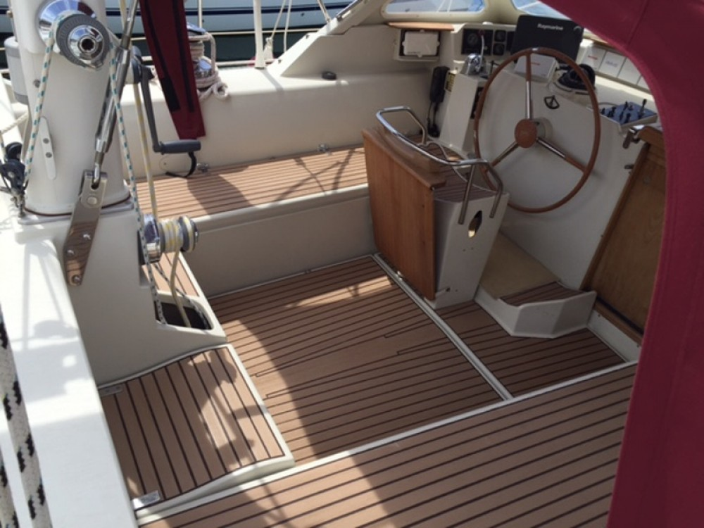 Boat rental Piombino cheap Amel Supermaramu