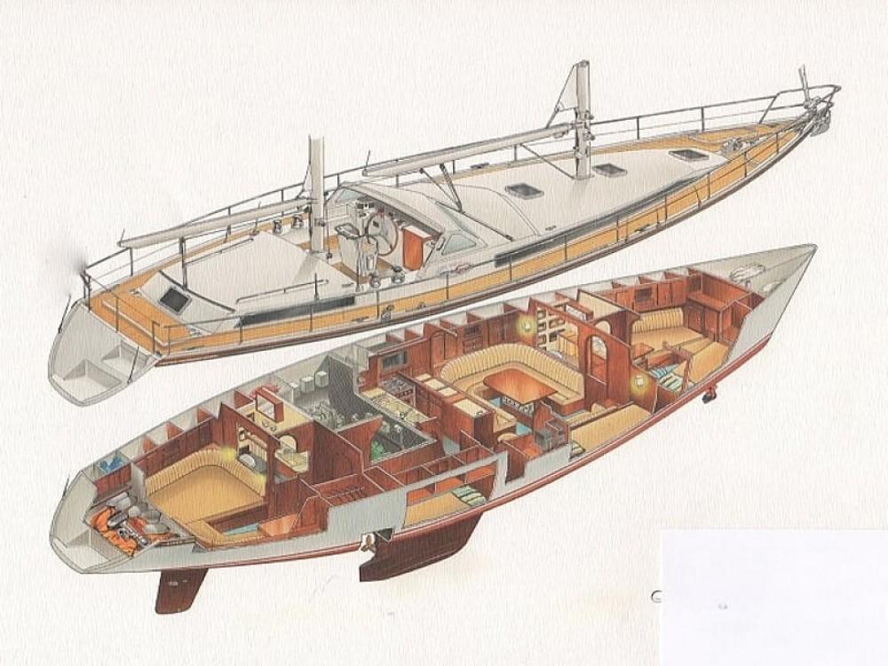 Boat rental  Amel Supermaramu in Piombino on Samboat