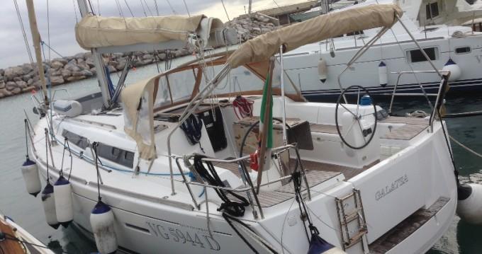 Boat rental Piombino cheap Dufour 405