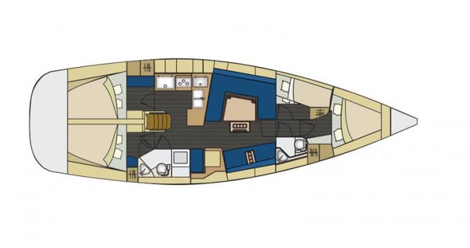 Rental Sailboat in Salivoli - Elan Impression 444