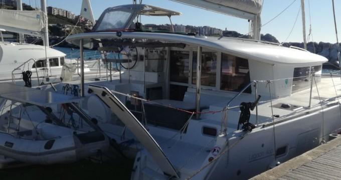 Rental yacht Salivoli - Lagoon Lagoon 400 on SamBoat