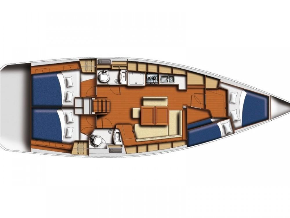Rental Sailboat in  - Bénéteau Oceanis 43