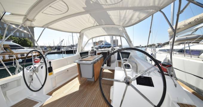 Boat rental Zadar cheap Oceanis 45