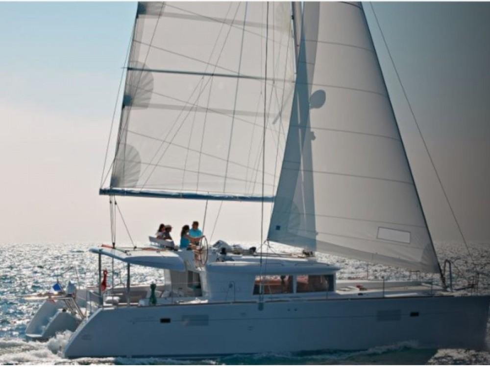 Rental yacht Zadar - Lagoon Lagoon 450  Flybridge on SamBoat