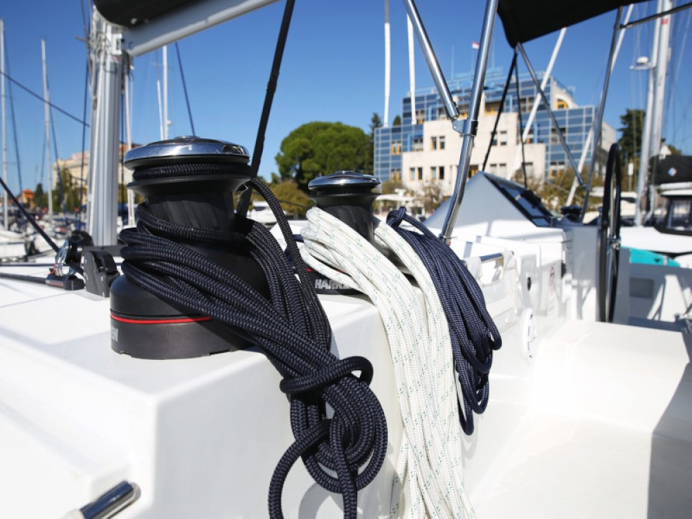 Boat rental Zadar cheap Lagoon 450  Flybridge