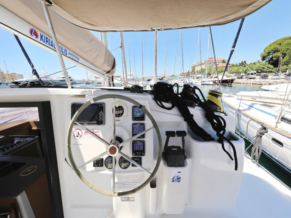 Fountaine Pajot Lipari 41 between personal and professional Zadar