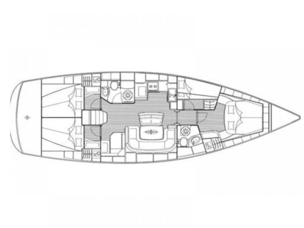 Boat rental Bavaria Bavaria 46 Cruiser in Zadar on Samboat