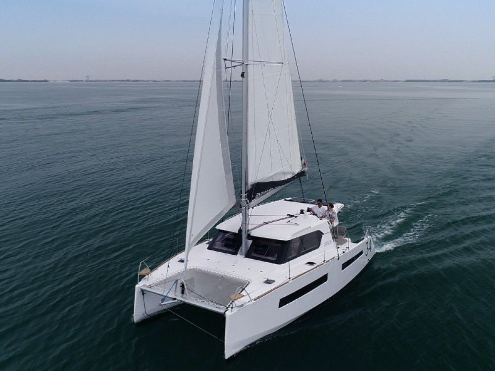 Hire Catamaran with or without skipper  Marina Zadar