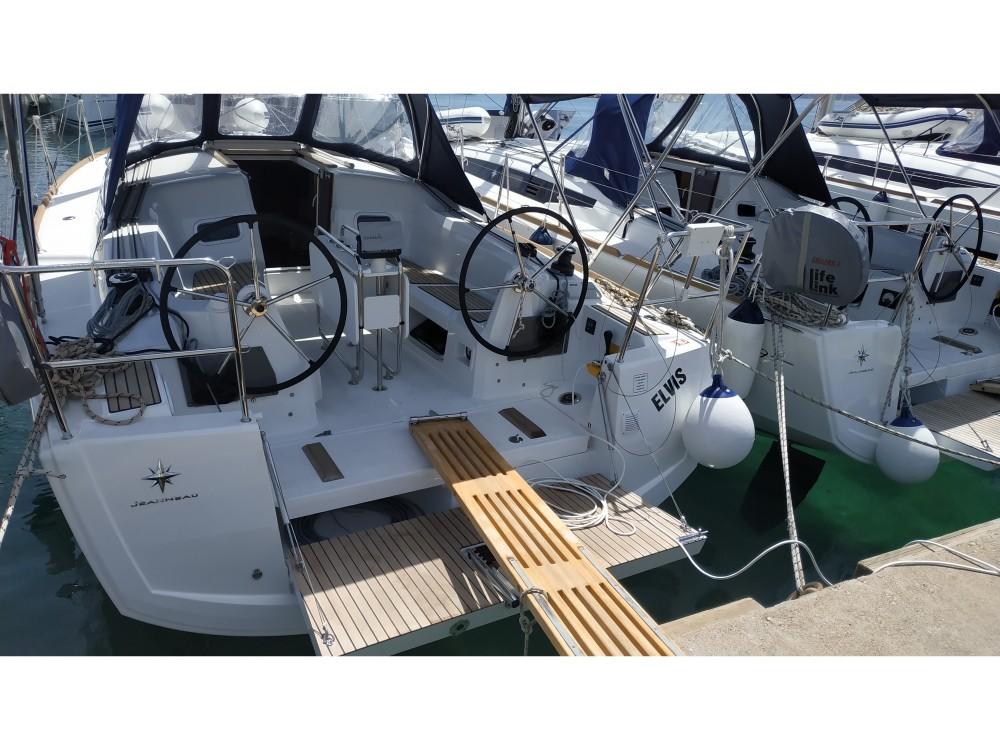 Rental Sailboat in ACI marina Vodice - Jeanneau Sun Odyssey 349