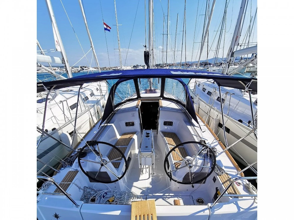 Hire Sailboat with or without skipper Jeanneau ACI marina Vodice
