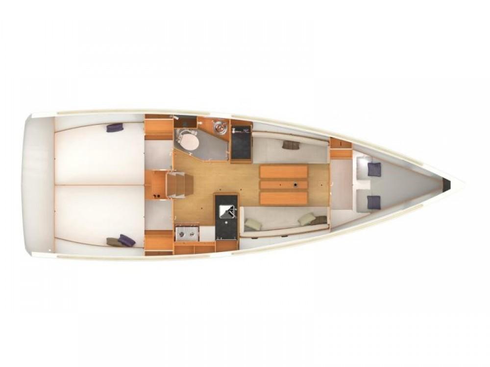Boat rental Pirovac cheap Sun Odyssey 349