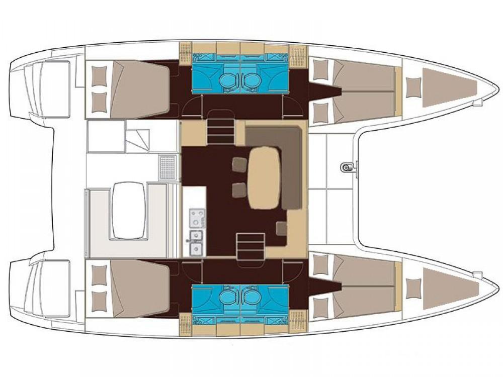 Rental yacht Alimos Marina - Lagoon Lagoon 400 S2 on SamBoat