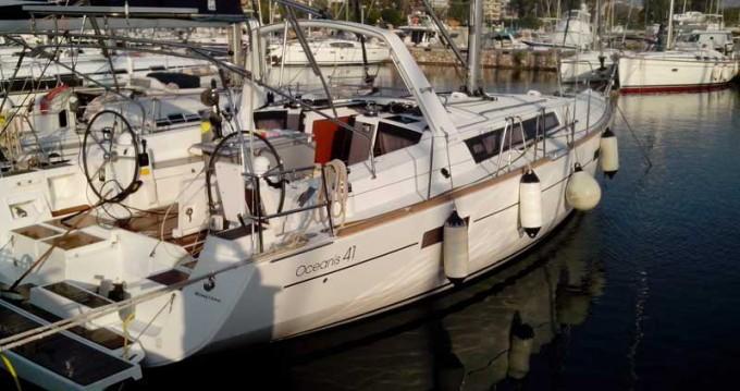 Rental yacht Salamina - Bénéteau Oceanis 41 on SamBoat