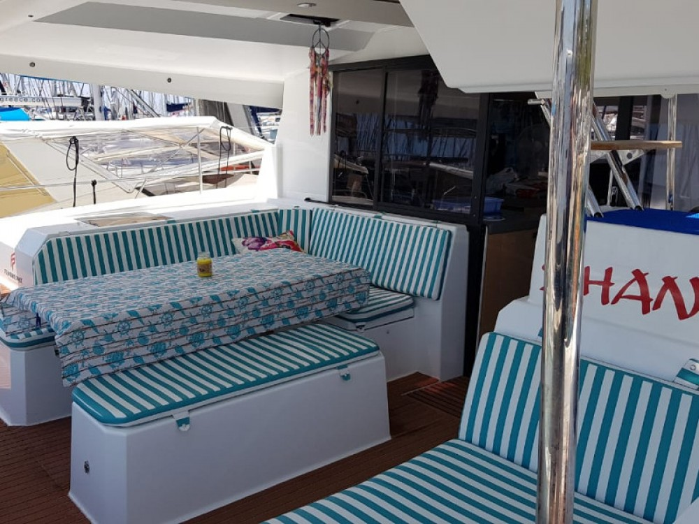 Fountaine Pajot Astrea 42 between personal and professional Álimos