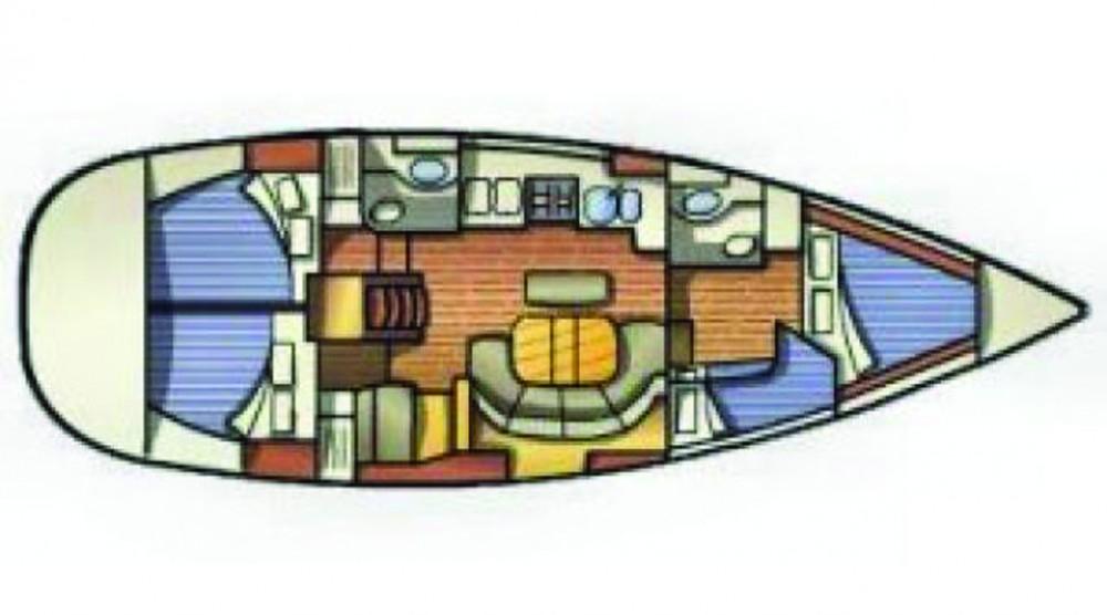 Boat rental Bénéteau Oceanis 411 in  on Samboat