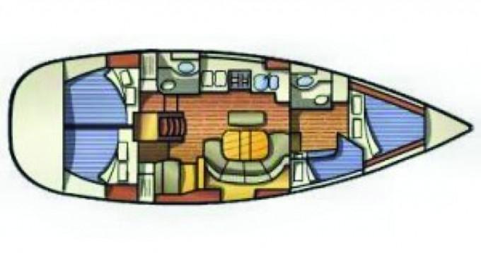 Bénéteau Oceanis 411 between personal and professional Lefkas Marina