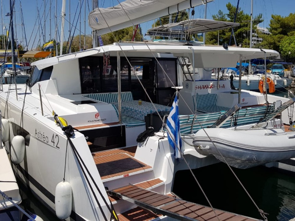 Fountaine Pajot Astrea 42 between personal and professional Alimos Marina