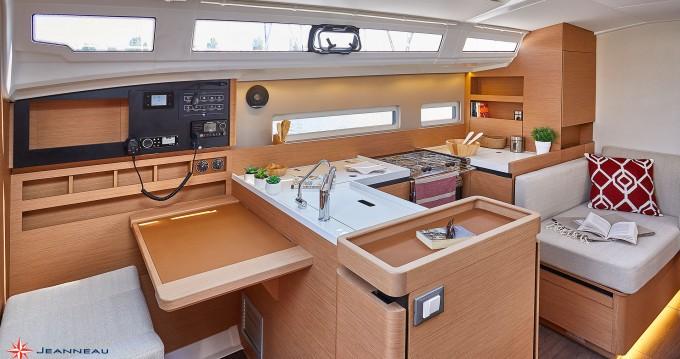 Boat rental Lefkas Marina cheap Sun Odyssey 410