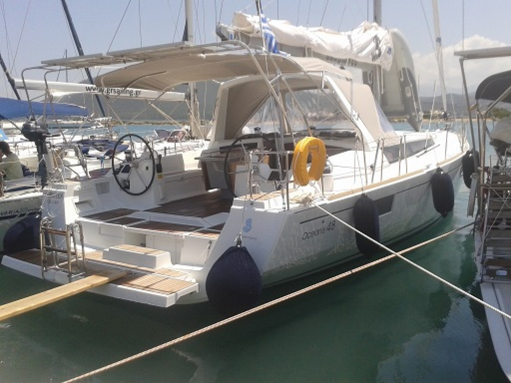Bénéteau Oceanis 48 between personal and professional Lefkada