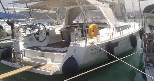 Boat rental Bénéteau Oceanis 48 in Lefkas Marina on Samboat