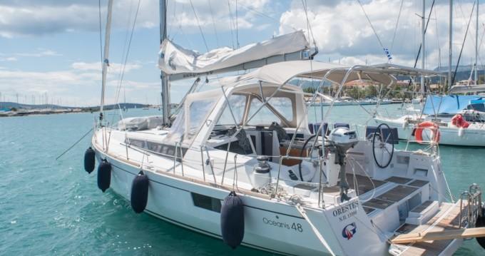 Boat rental Lefkas Marina cheap Oceanis 48