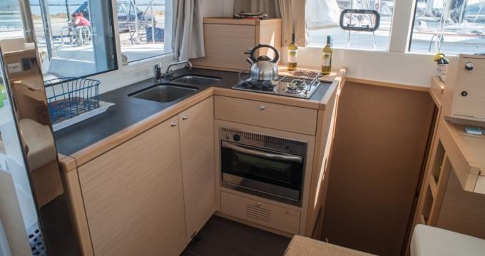Boat rental Lefkas Marina cheap Lagoon 39