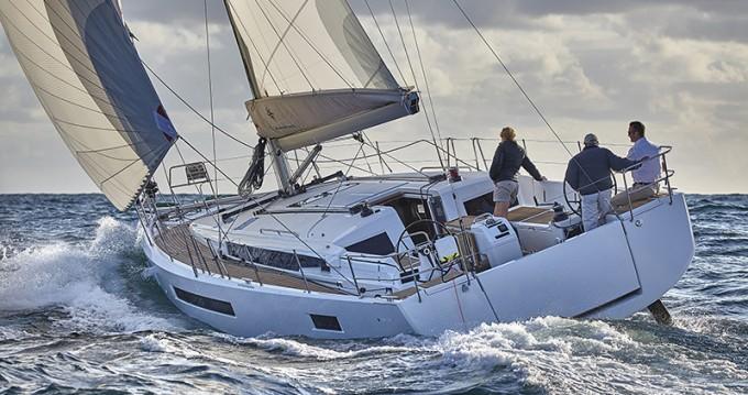 Boat rental Lefkas Marina cheap Sun Odyssey 490