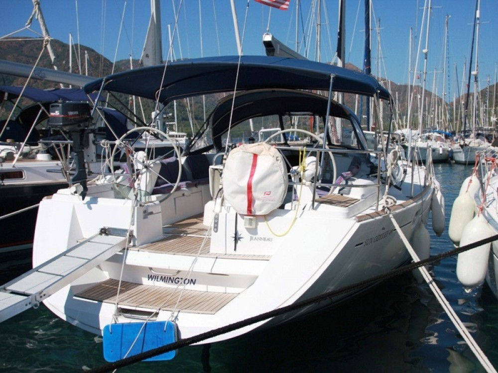 Jeanneau Sun Odyssey 49 between personal and professional Marmaris