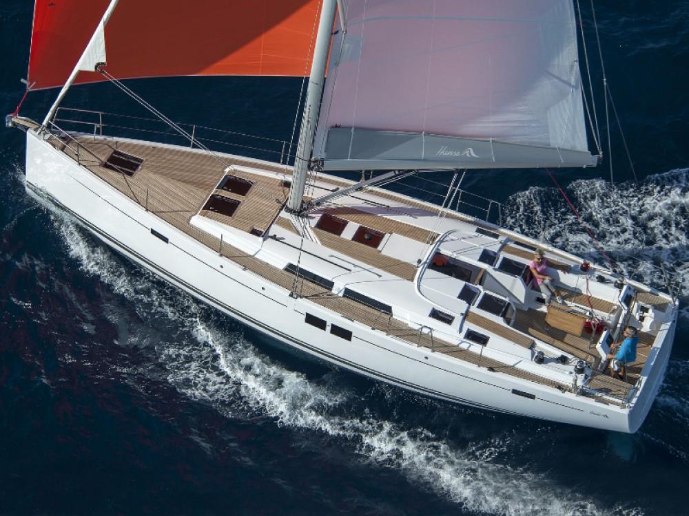 Rental Sailboat in Marmaris - Hanse Hanse 505