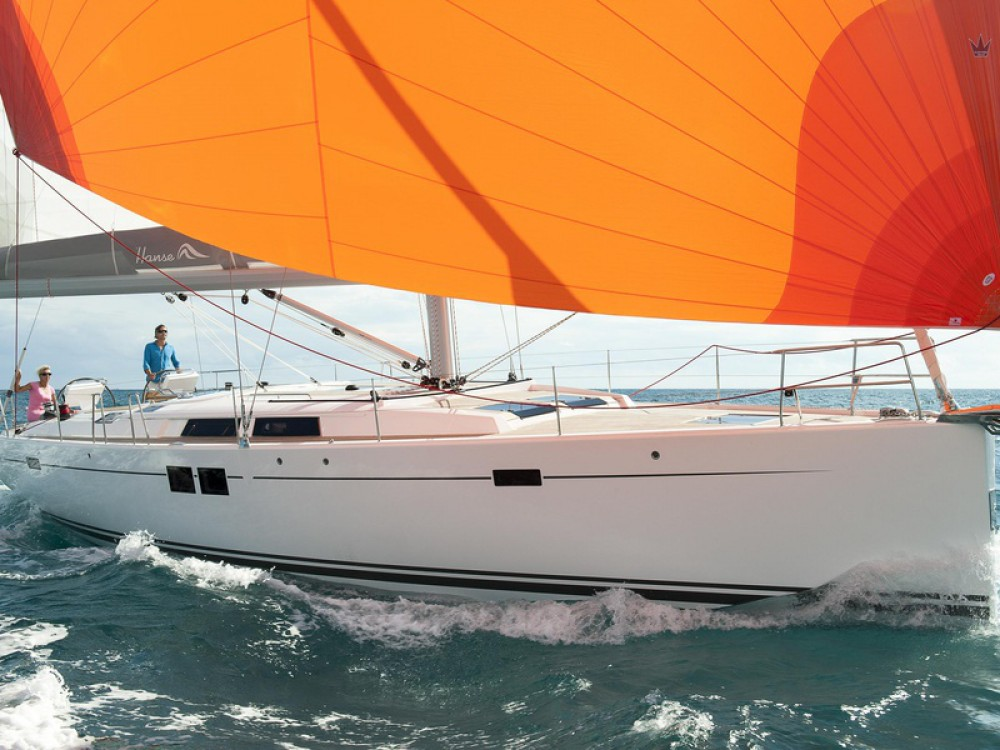 Hire Sailboat with or without skipper Hanse Marmaris