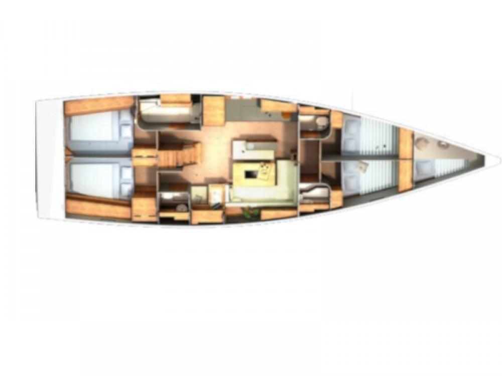 Boat rental Hanse Hanse 505 in Marmaris on Samboat