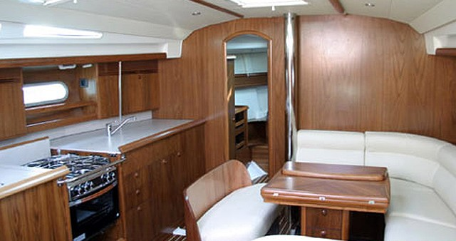 Jeanneau Sun Odyssey 45 between personal and professional Marmaris