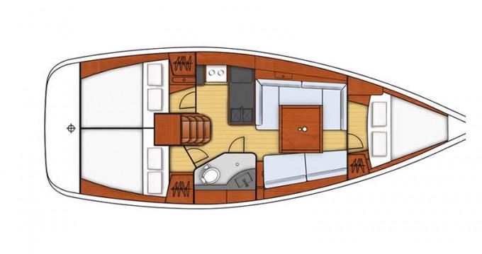 Boat rental Marmaris cheap Oceanis 34