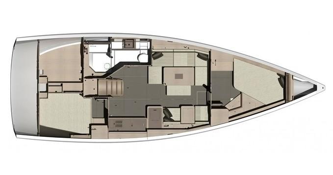 Rental Sailboat in Marmaris - Dufour Dufour 412 Grand Large