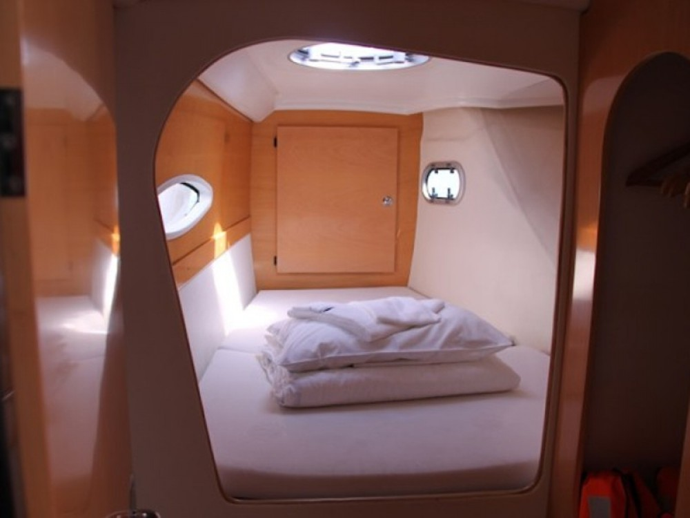 "Rental Catamaran in Neos Marmaras - Fountaine Pajot FOUNTAIN PAJOT Lavezzi 40 ""VICTORIA"""