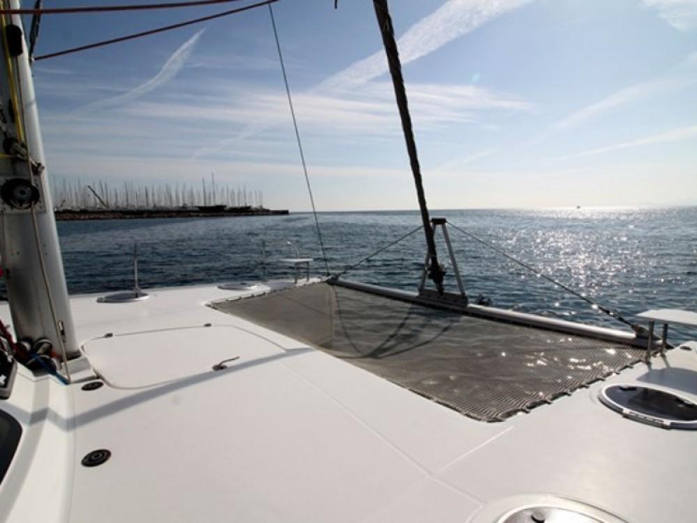"""Boat rental Neos Marmaras cheap FOUNTAIN PAJOT Lavezzi 40 """"VICTORIA"""""""