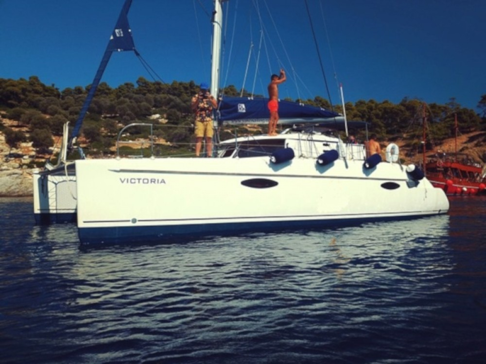 "Rental yacht Neos Marmaras - Fountaine Pajot FOUNTAIN PAJOT Lavezzi 40 ""VICTORIA"" on SamBoat"