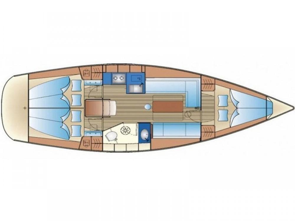 Boat rental  cheap Bavaria 34 Cruiser