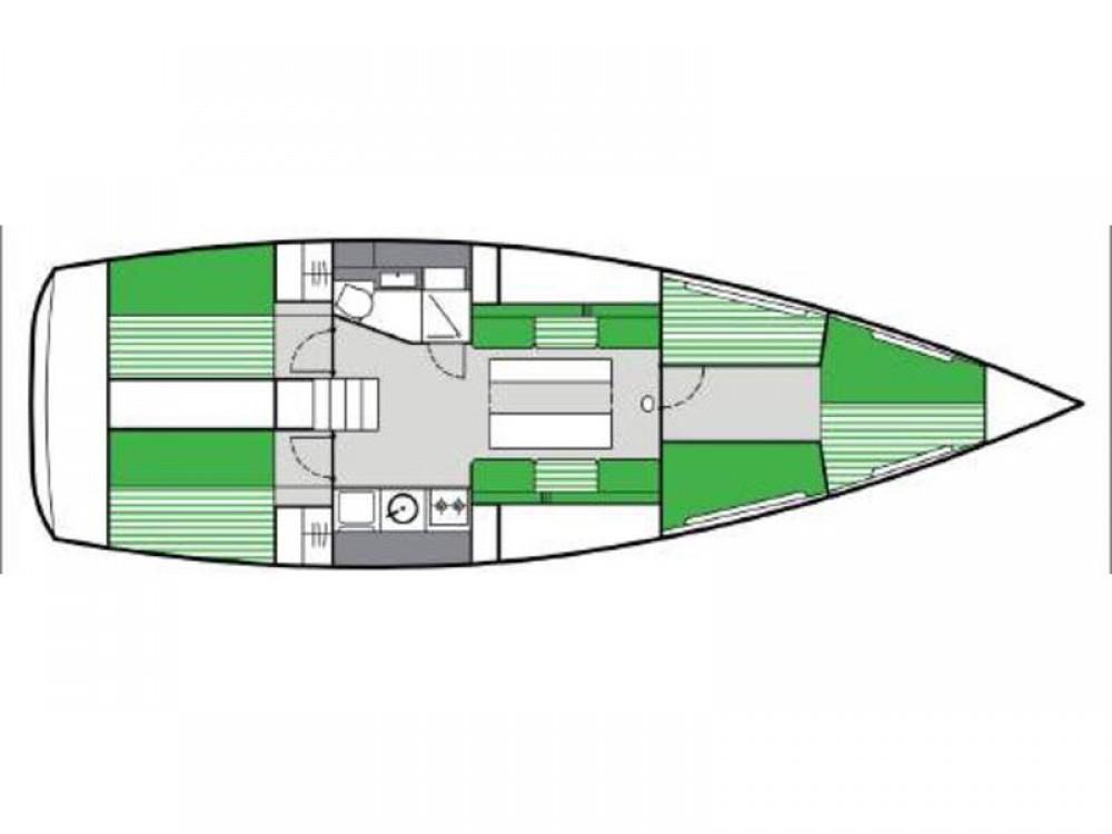 Rental yacht De Fryske Marren -  Varianta 44 on SamBoat
