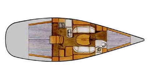 Rental Sailboat in Biograd na Moru - Bénéteau First 40.7