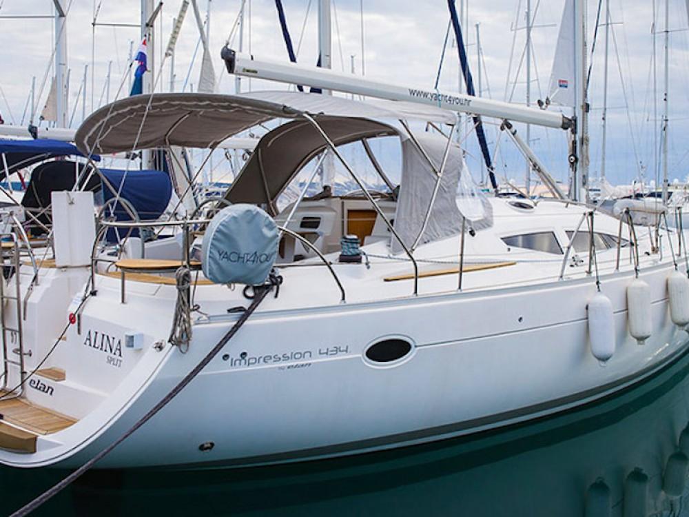 Rental Sailboat in Grad Biograd na Moru - Elan Elan 434 Impression