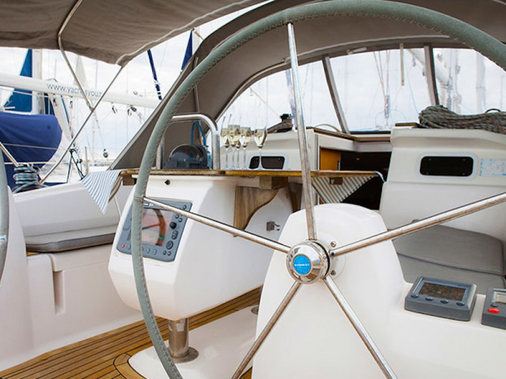Rental yacht Biograd na Moru - Elan Elan 434 Impression on SamBoat