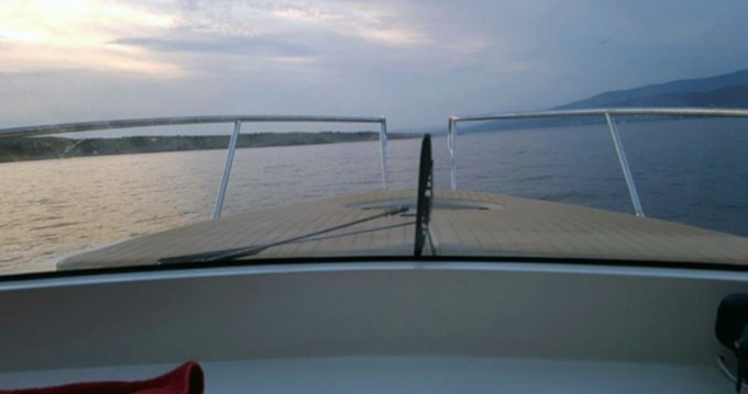 Rental Motorboat Adex with a permit