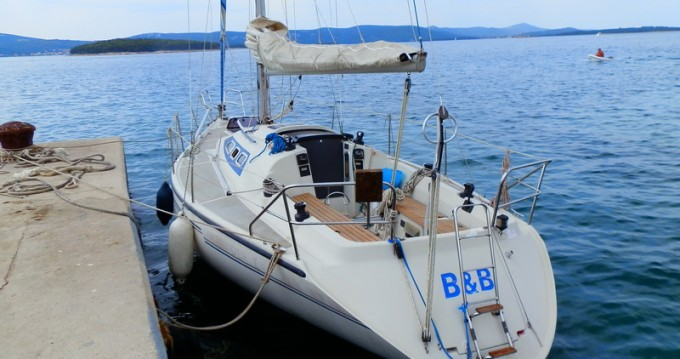 Boat rental Dehler Dehler 34 in Biograd na Moru on Samboat
