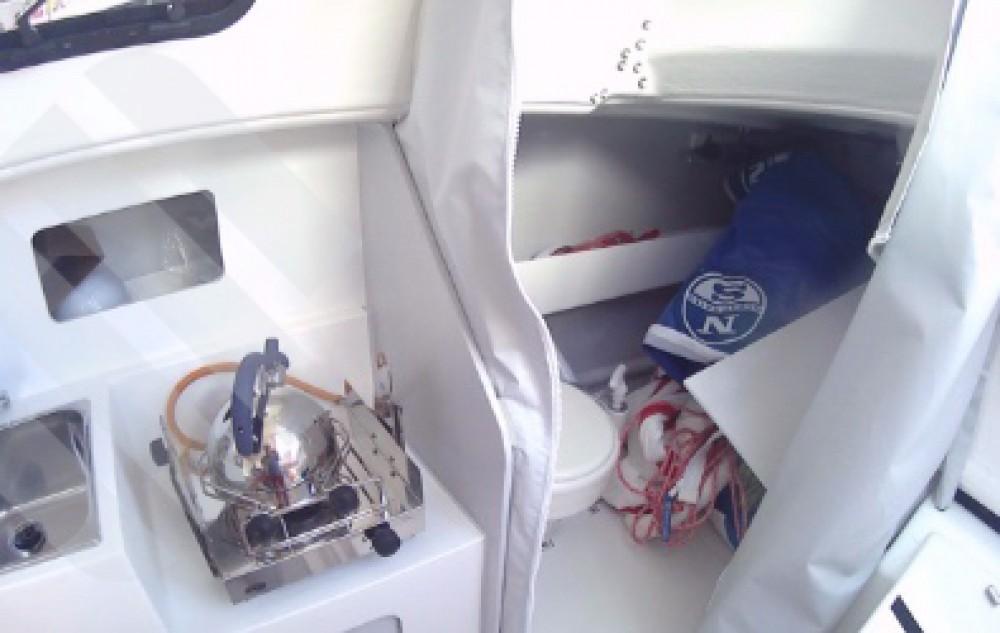 Rental Sailboat in Marseille -  Django 8S