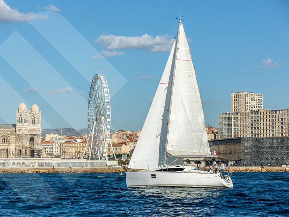 Boat rental Marseille cheap Elan 35 Impression