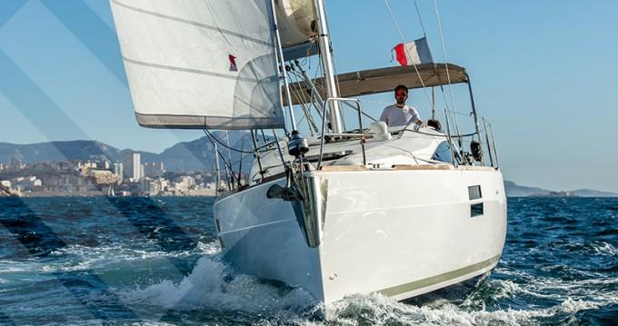 Boat rental Marseille cheap Elan 35 Impression