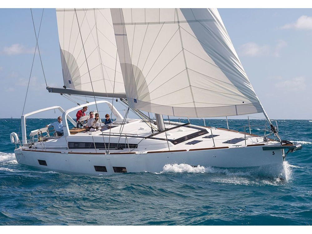 Boat rental Marseille cheap Oceanis 55