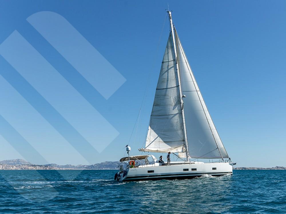 Rental Sailboat in Marseille - Bénéteau Oceanis 55